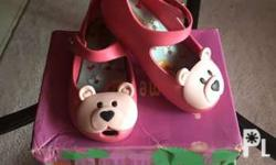 100% authentic Mini Melissa Ultragirl Bear Pink Size 7