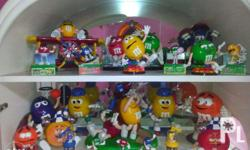 MOre than 10 years of M&M usa collection. Every