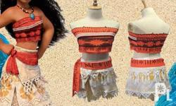 Moana Costume Kids IN-STOCK : Ready to Ship/Available