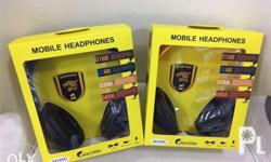 Headphones for smartphones, tablets, laptops, and
