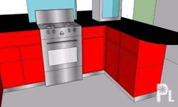 we customized: kitchen modular cabinets complete