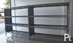 Modular Shelving is fast and easy to assemble, and uses