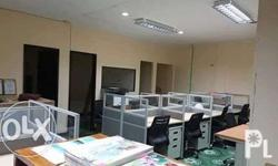 We supply & install modular office partition with