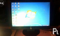 Monitor for sale, for only 2,700php. 17 inches, wide