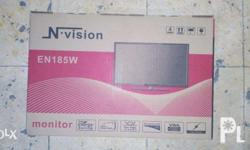 N.Vision 18.5 LED Monitor Widescreen Brandnew * Bnew