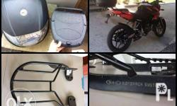 FOR SALE ROUSER NS150/200 Monorack & Top Box (came from