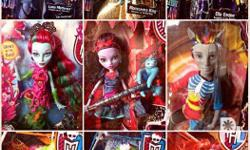 Monster High Basic Dolls Lorna McNesie.. Marisol
