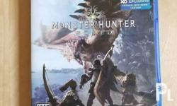 For Sale ONLY! NO TO TRADES!! Monster Hunter World -