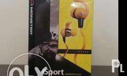 Brand new, authentic Monster iSport immersion