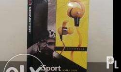 Brand New, Sealed, Authentic Monster iSport Livestrong