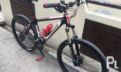 Deore groupset straight,epicon fork 120mm,controltech
