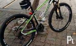 Slightly used Mosso Falcon II mountain bike. Equipped