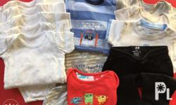 Selling our pre-loved baby clothes for 6 to 12 months