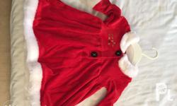 Mothercare Santa Dress Costume. Excellent condition.
