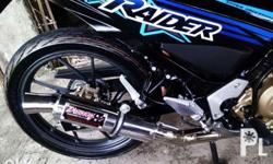 Daeng / Hispeed Replica Muffler 3cuts, High quality,