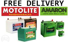 Brand new batteries now on stock! Dealer of Amaron &