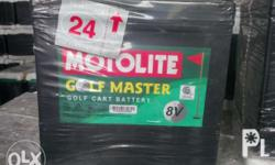 Motolite Golf master are deep-cycle batteries that are