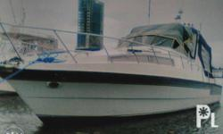 "36 Footer Convertible Cruiser Motor Yacht ""AS IS WHERE"