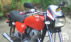 Honda 125 good running condition.. New tires and block.