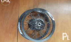 alloy rim set 17' w/spoke and hub for my honda wave in