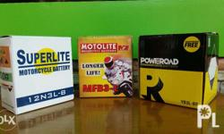 Motorcycle Batteries for sale as low as Php450.00. We