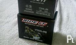Motorcycle Battery YB3L-BS PhP 380.00 - for Honda TMX -