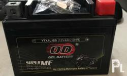 Motorcycle battery Brand new Made in thailand as seen