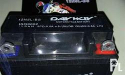 Sealed Brand New DAYWAY motorcycle battery 12N5L-BS