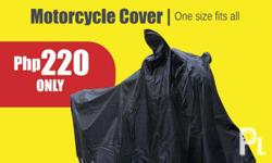 Matibay and brand new black Motorcycle Cover with