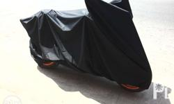 rubberized motorcycle cover premium material, this