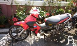 Rusi motorcycle for sale 12k expire registration text