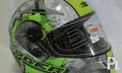 Spyder helmets and LS2 helmets available. Spyder Excel2
