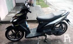Rusi Mio look motorcycle For Sale RUSH. Black