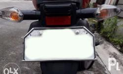 Motorcycle Scooter License Plate Protector and Holder -