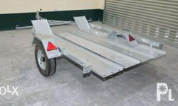 Motorcycle Trailer for ATV or 2 motorcycles Deck Size