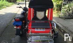 motorcycle with sidecar in good condiscion makapal pa