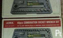 For Sale - Aiwa 40-piece S Combination Socket Wrench
