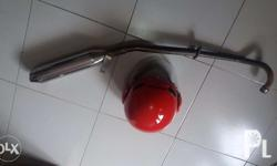 Bawas Kalat Item for sale 1.Bullet pipe for XRM 125