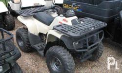 Deskripsiyon up for sale is a 200call terrain vehicle