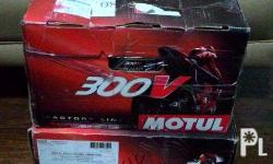 MOTUL 300V 4T 10W-40 Factory Line Race bikes fitted