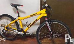 mountainbike kashima with mosso fork,size bike 15.5,7