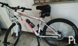Selling my rarely used mountain bike. Mechanical disk