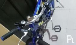 *Mountain Bike color blue *All parts are working well