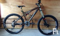 For Sale! Vision Quest Full Suspension Mountain Bike