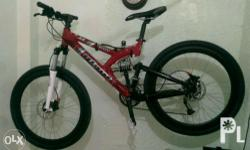 Giant Bicycle Type Mountain bike, front & rear