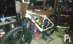 orbea size 17 frame Deore group set 9 speed hydraulic