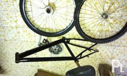 For sale mountain bike parts, body , wheel set. Plato,