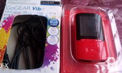 Philips brand 8gb earphone and charger cable included