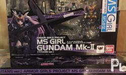 Part of the Armored Girls Project by Bandai. Just got
