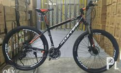 Alloy frame FT-301 size 17inch. Alloy suspension fork